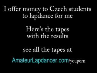 Lapdance on horny guy...