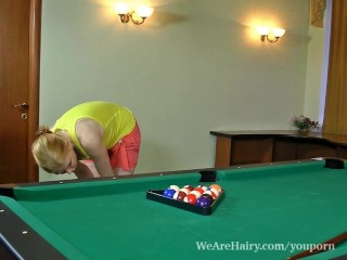 Hairy Rita Rejects Pool...