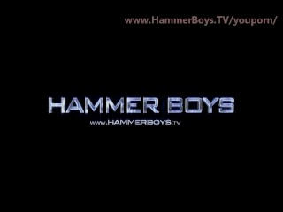 Huge dick and balls from hammerboys...