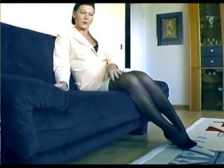 German Businesswoman Gets Down To Business Sascha Production...