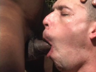 Bareback interracial fuck in the woods – Thrust Men