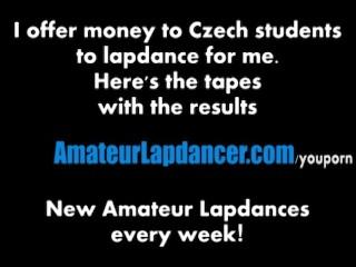 Geous Redhead Does Tempting Lapdance...