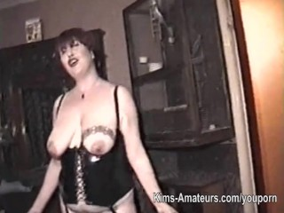 Homemade Film With Mature Woman And Three Men...