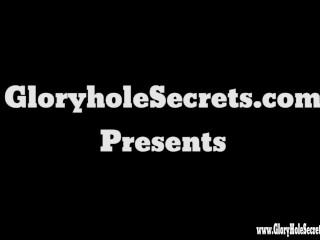 Gloryhole Secrets BBW Tiffany loves every drop of cum...