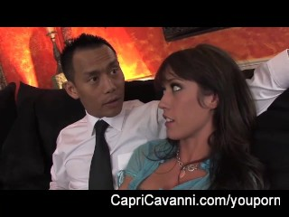 Capri Cavanni the maid who gets fucked by 2