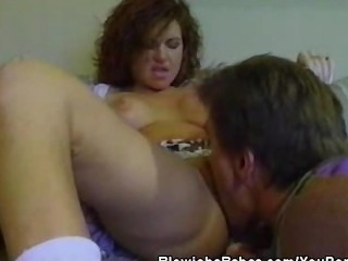 Cock sucking amateur