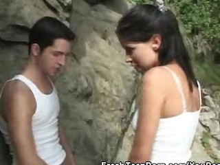 cock-sucking-teen-babe-fucked-outdoors