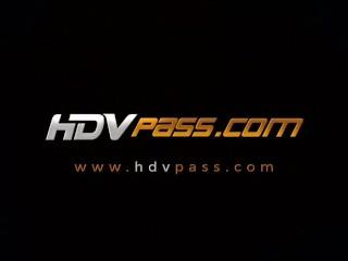 HDVPass Sara Jay and Lisa Sparxxx Tag Team a Lucky Guy...