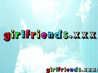 Girlfriends Go Shopping Then Make Hot Sextape At Home...