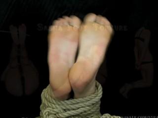 Sasha foot torture...