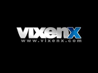Vixenx anal sex threesome office...