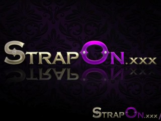 Strapon Romantic Double Peration With Sex Toys...