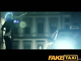 Faketaxi Halloween Customer Gets A Full Taxi Facial...