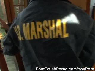 Fake babe marshalls fetish