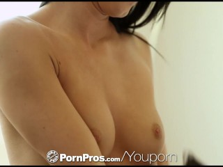 Sabrina banks tight pussy stuffed with...