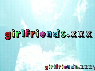 Girlfriends horse riding hottie makes her lesbian friends...