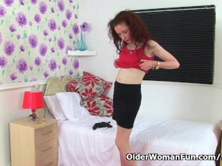 Scarlet Loves Masturbating In...