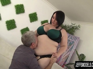 Cute and chubby plumper alexxxis allure fucking cock...
