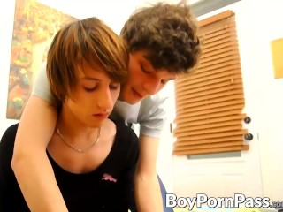 Cute Guy Consoled Over Boyfriend...