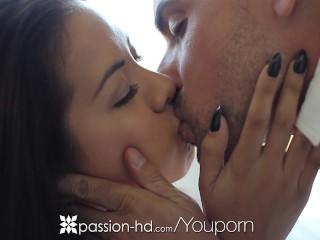 Passion-HD - Pretty asian Morgan Lee rides reverse cowboy