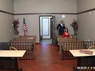 Brazzers - Peta Jensen gets some lawyer dick