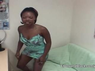 Ebony amateur a white guy...