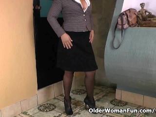 Pantyhosed Shows Us Her Best Kept Secret...