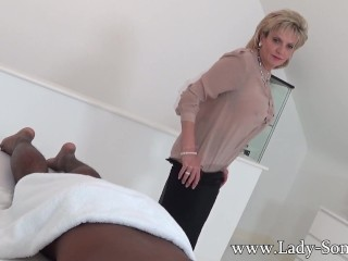 Black guy massage with happy ending