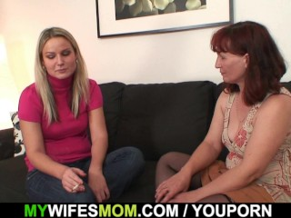 Wife sees mother