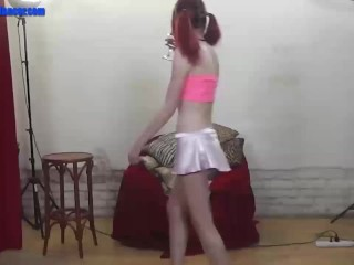 Teen cutie dances wild on dick...