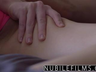 During sensual...