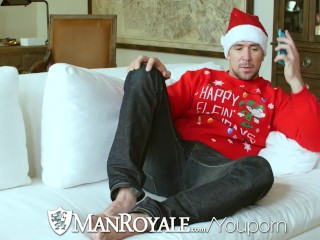 ManRoyale   Kyle Kash Gets XMas Gift Up the Ass from Trenton Ducati