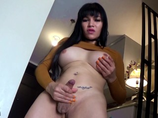 TS Filipina Smoking Hot Busty Shemale