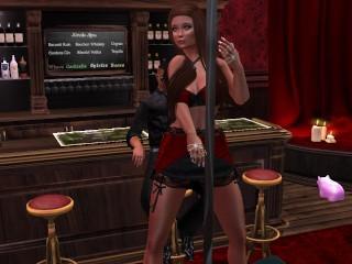 une-trxc3xa8s-jolie-danseuse-en-mini-robe-rouge