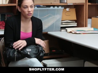 Shoplyfter   Cute Teen Roughly Fucked For Stealing...