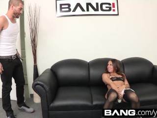 Sara gets choked during audition...