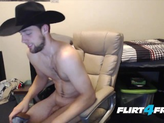 Derrick pipe is one hung cowboy...