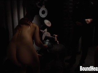 Lesbian Orgy With Three Slaves And Madame